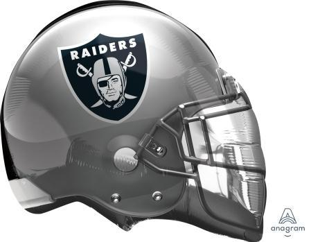 "Supershape Oakland Raiders Helmet 26"" Balloon"