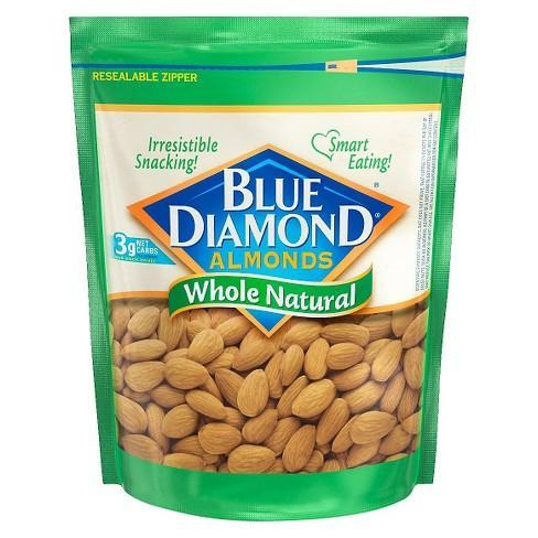 Almonds Blanched Whole 5lb - Blue Diamond Growers