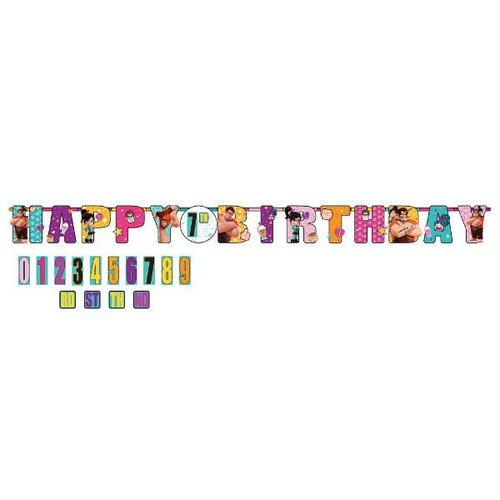 Wreck It Ralph 2 Jumbo Birthday Banner - Amscan