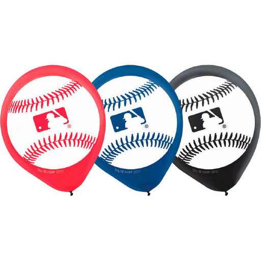 "Rawlings Major League Latex Balloons 12"" - Amscan"