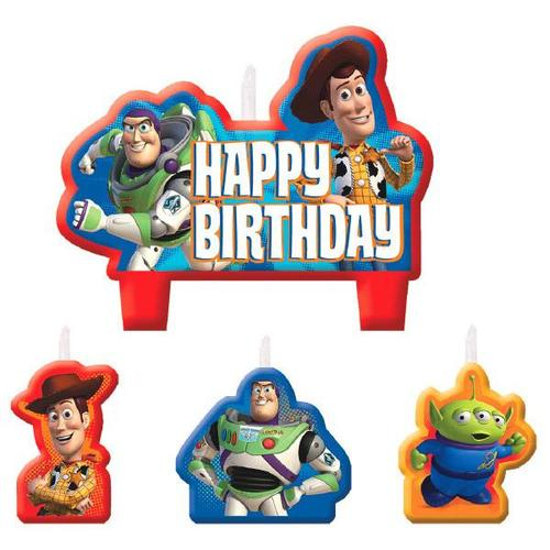 Toy Story 4pc Candle Set