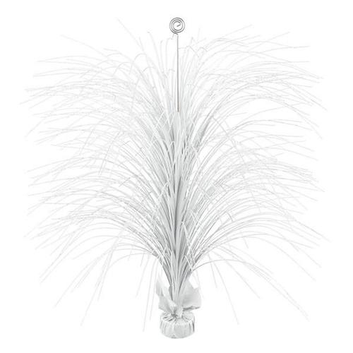Frosty White Large Foil Spray Centerpiece - Amscan