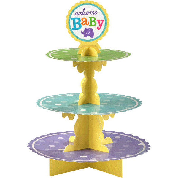 Baby Shower Gender Neutral Treat Stand - Amscan