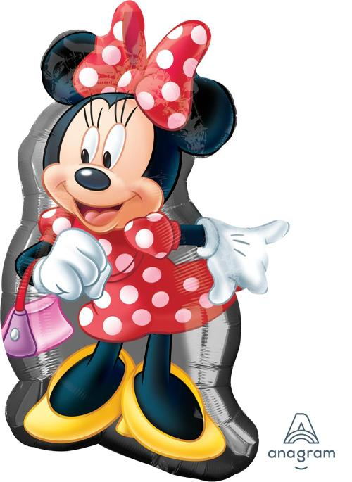 "Supershape Minnie Shape 32"" Balloon - Anagram"