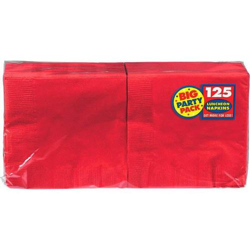 Apple Red Lunch Napkin 125ct - Amscan