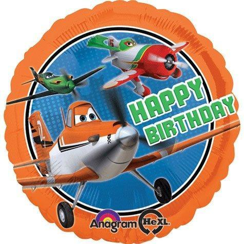 "17"" Disney Planes Happy Birthday Foil Balloon - Flat - Anagram"