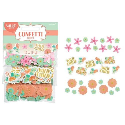 Boho Birthday Girl Confetti - Amscan