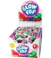 Blow Pop Assorted 100/.65oz - Charms Company