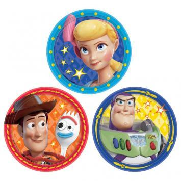 Toy Story 4 Dessert Plates 8ct - Amscan