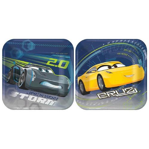 "Cars 3 7"" Plate - Amscan"