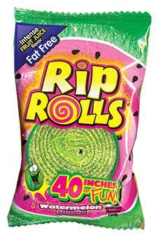 Watermelon Rip Rolls 24/1.4oz - Foreign Candy Company