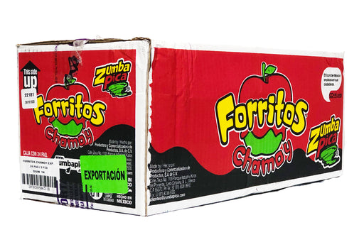 Zumba Pica Forritos Chamoy 24/5 - Case - Zumba Pica