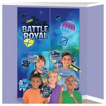Battle Royal Scene Setter with Photo Props - Amscan