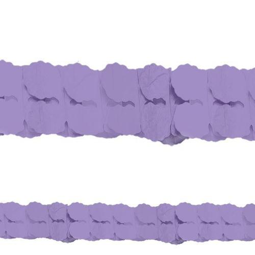New Purple Paper Garland - Amscan