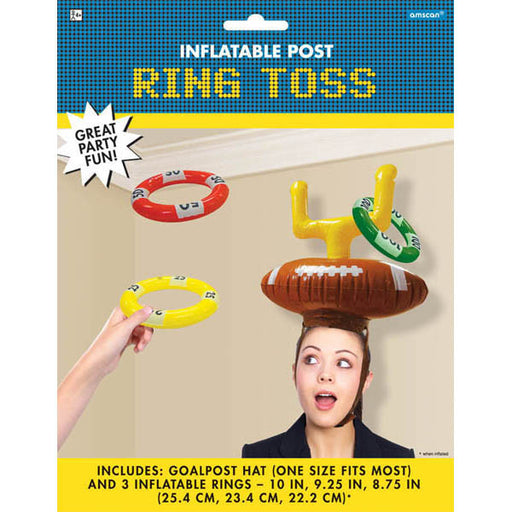 Football Inflatable Ring Toss Game - Amscan