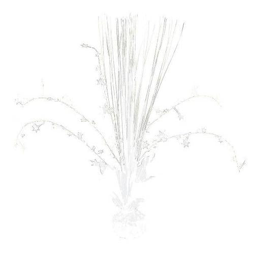 Frosty White Foil Spray Centerpiece - Amscan