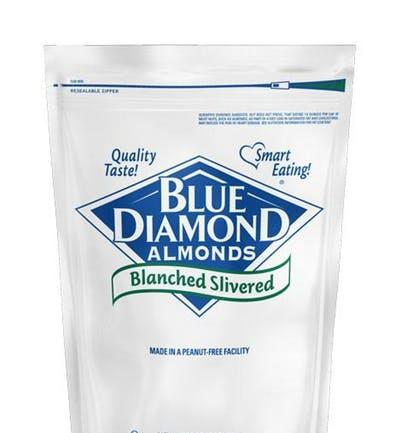 Almonds Blanched Slivered 5lb - Blue Diamond Growers