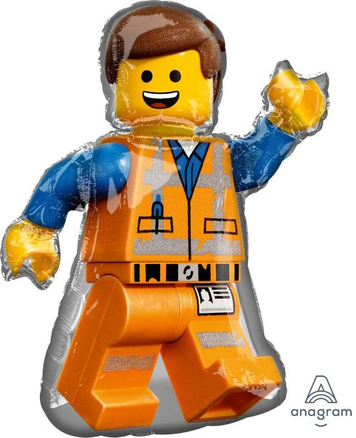 "Supershape Lego Movie 2 32"" Balloon"