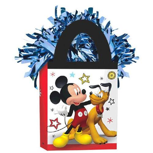 Mickey On The Go Mini Tote Balloon Weight - Amscan