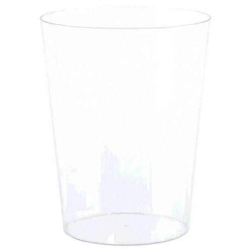 Plastic Container Clear Medium Cylinder Container - Amscan