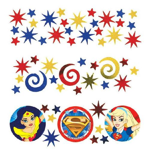 Superhero Girls Confetti - Amscan
