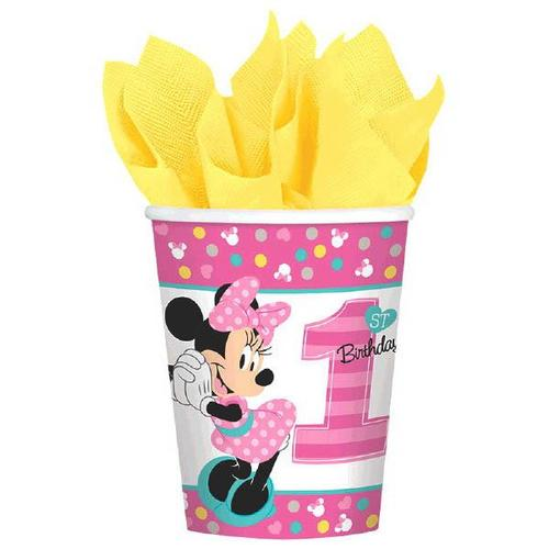Minnie Fun2B1 9Oz Cups - Amscan