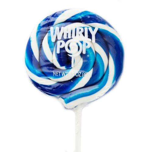Whirly Pop Royal Blue White 24/1.5oz - Adams & Brooks