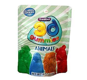 3D Animals Gummies 10/4oz