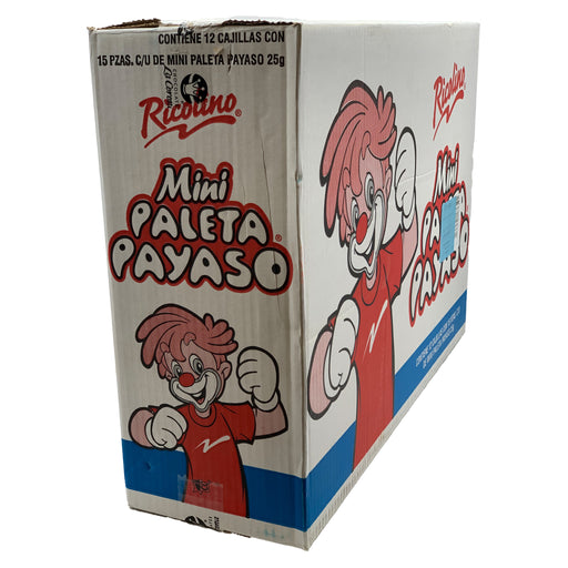 Mini Paleta Payaso 12/15 - Case - Ricolino