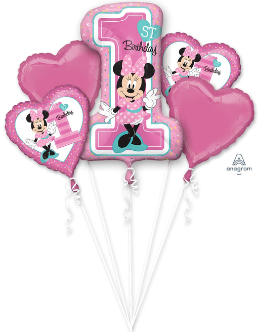 Minnie Fun2B1 Balloon Bouquet - Anagram