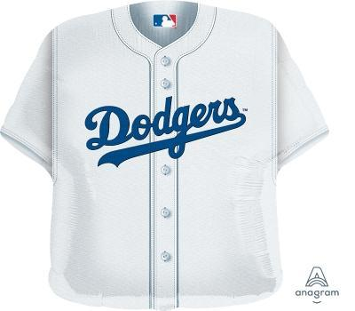 "Supershape LA Dodgers Jersey 24"" Balloon - Anagram"