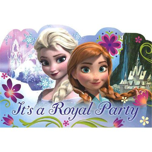 Frozen Invitation 8Ct