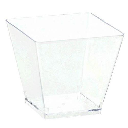 Mini Plastic Clear Cube 40ct