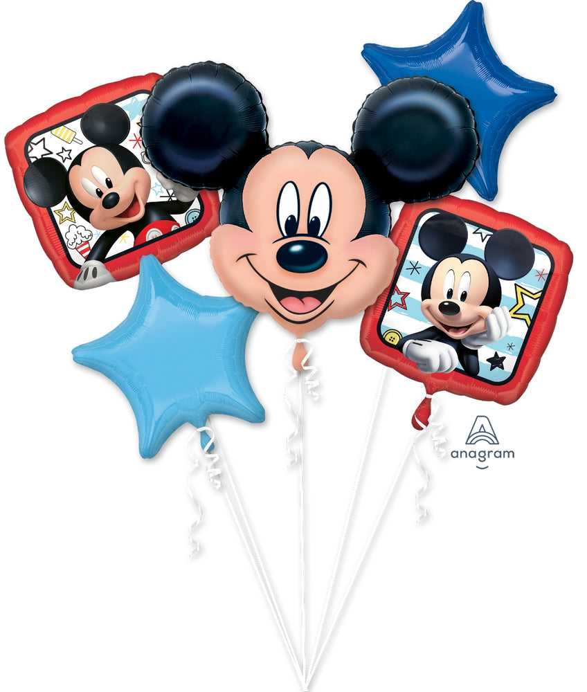 Mickey Mouse Roadster Balloon Bouquet - Anagram