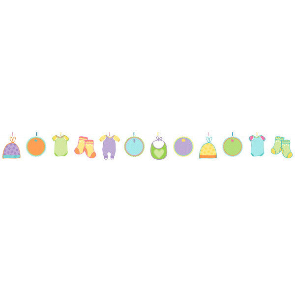 Baby Shower Autograph Garland - Amscan