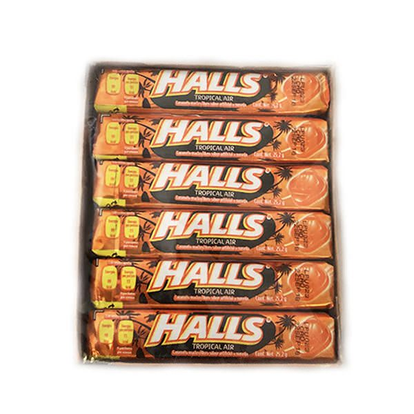 Halls 30/12 Tropical Air - Case - Halls