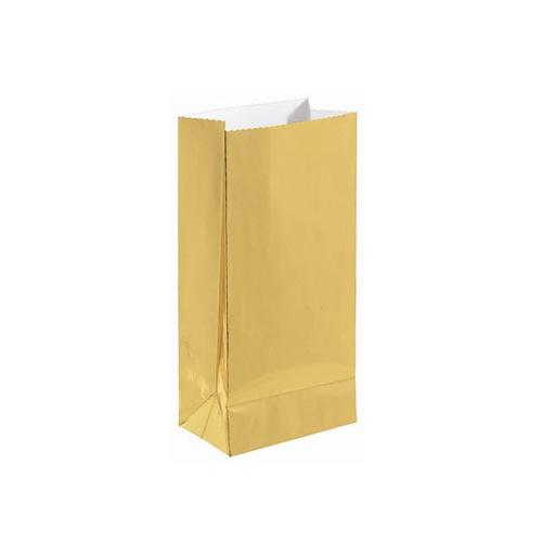Gold Mini Paper Bag - Amscan