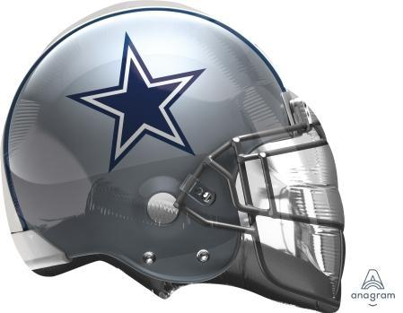"Supershape Dallas Cowboys Helmet 21"" Balloon"
