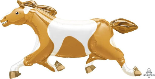 "Supershape Painted Pony 41"" Balloon - Anagram"