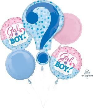 Gender Reveal Balloon Bouquet