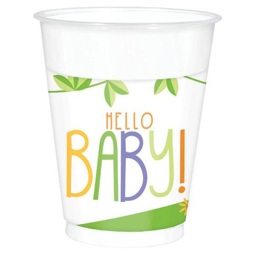 Fisher Price Hello Baby 16oz Plastic Cups 25ct - Amscan