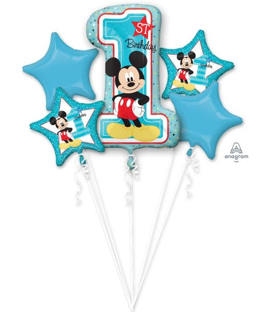 Mickey Fun2B1 Balloon Bouquet - Anagram