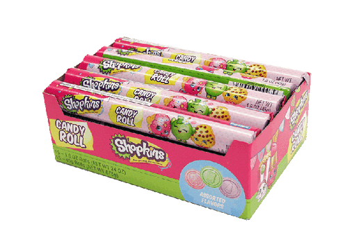 Shopkins Candy Roll 15/1.6oz - Frankford