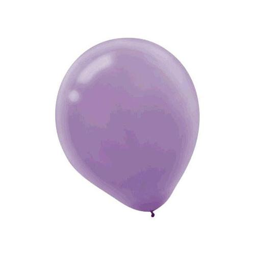 Latex Balloons 15ct Lavender - Amscan