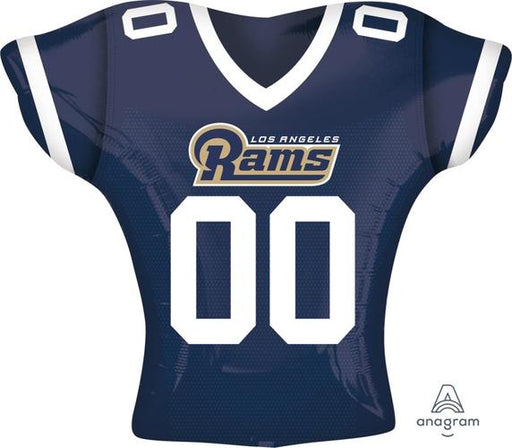 "Supershape LA Rams Jersey 24"" Balloon - Anagram"