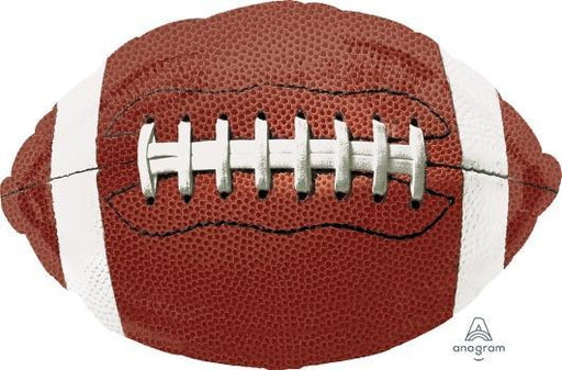 "Supershape Game Time Football 31"" Balloon"