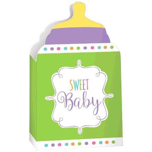 Baby Shower Paper Container Neutral - Amscan