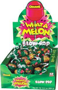 Blow Pop What-A-Melon 48Ct/.65oz - Charms Company