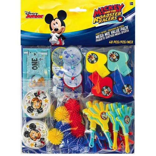 Mickey On The Go Mega Mix Pack - Amscan