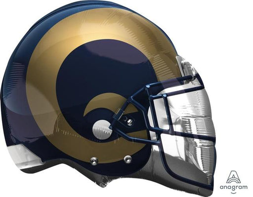"Supershape LA Rams Helmet 21"" Balloon"